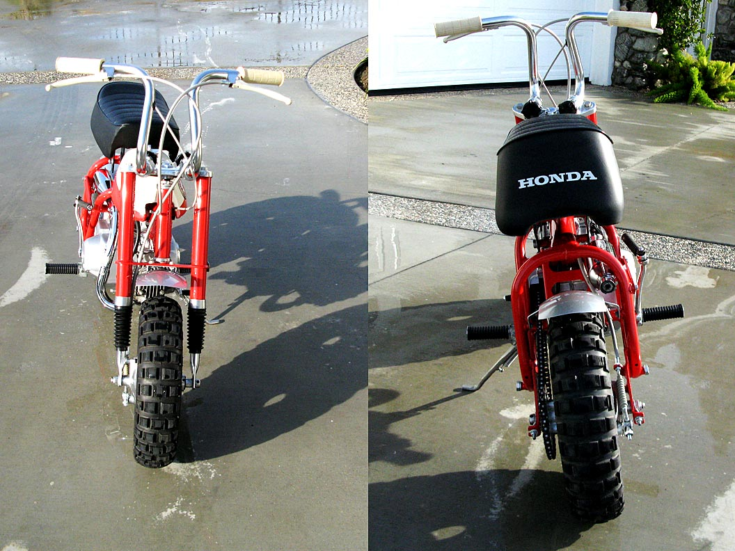 1968 Honda Minitrail Ko The Owen Collection Old Mini Bikes For Many Of Us In Late 60s This Is What Started It All Little 50 Cc Was Dream Bike Just About Every 10 Year