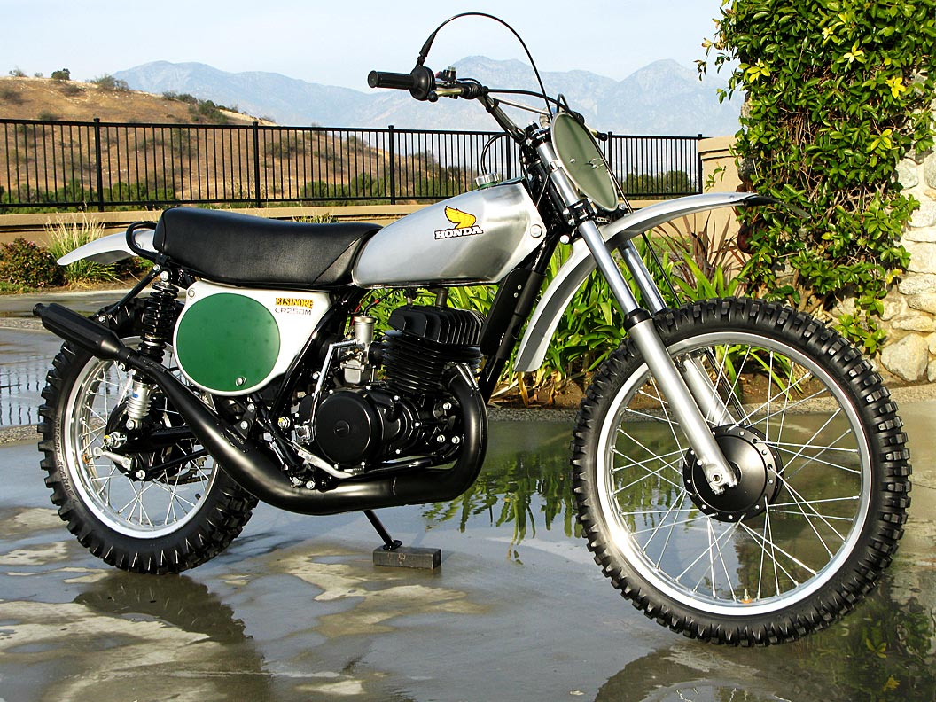 1973 honda cr250 elsinore mx the owen collection