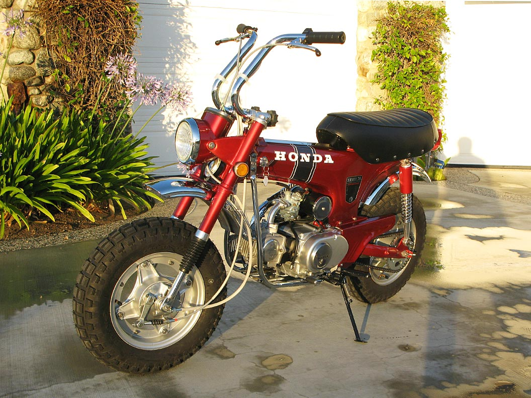 1969 Honda Ct70 The Owen Collection 1970 Trail 70 Parts 003