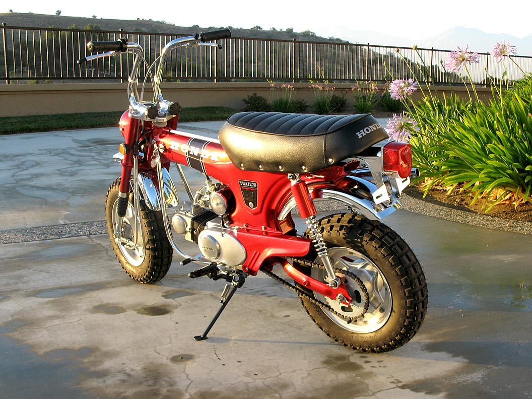 1969 Honda Ct70 The Owen Collection 1970 Trail 70 Parts 004