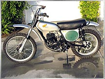 73 Honda CR250 Elsinore NOS